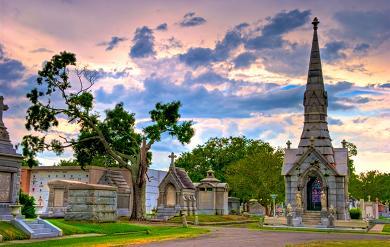 Кладбище в Новом Орлеане