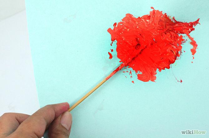Как сделать краску цвета крови 950