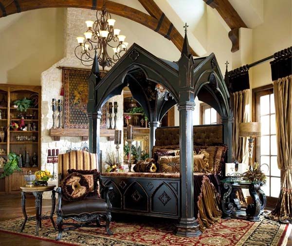 Gothic-Bedroom-Decor