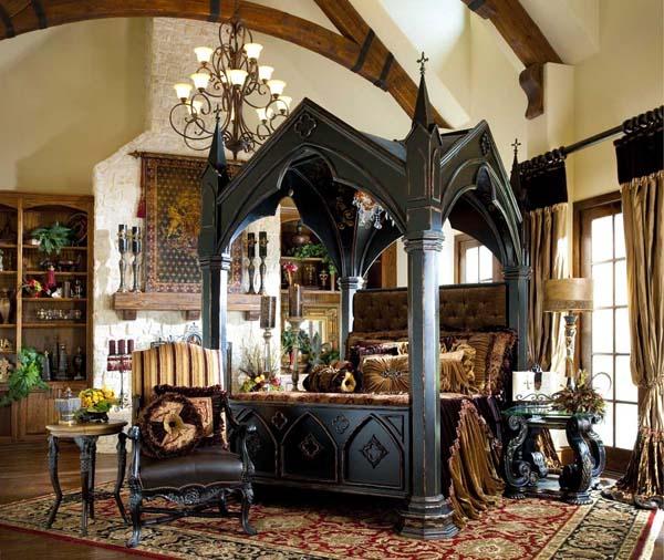 Gothic-Bedroom-Decor