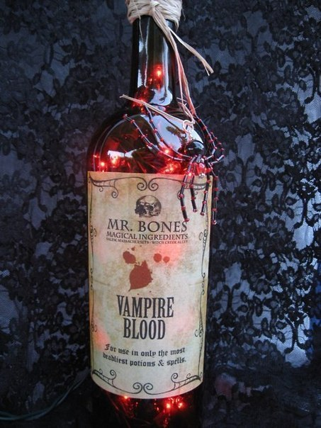 bootle of blood