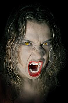 Вампир на охоте